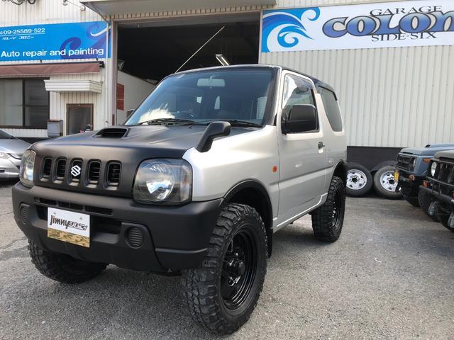 スズキ XL 4WD 2インチリフトアップ MTタイヤ