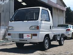 アクティトラック4WD 全面塗装済 エアコン 5速MT タイミングベルト交換
