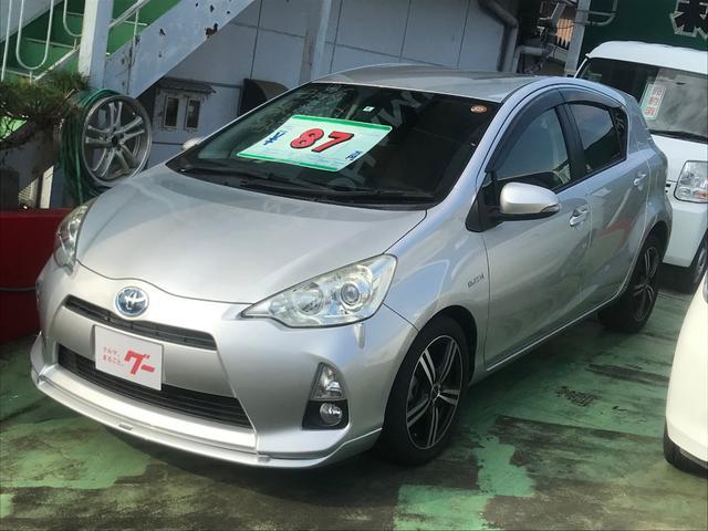 「トヨタ」「アクア」「コンパクトカー」「長崎県」の中古車