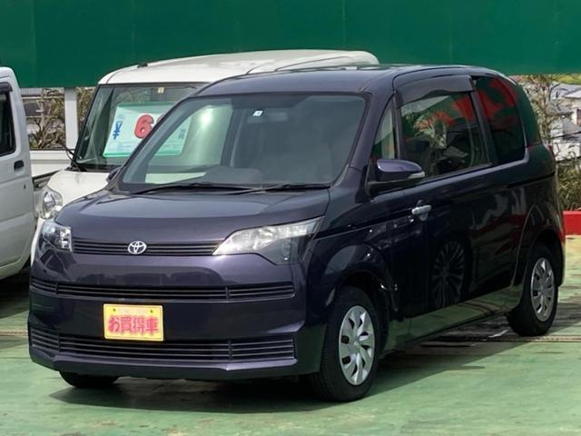 トヨタ スペイド X 保証付き 電動スライドドア キーレス CD再生 点検記録簿 アイドリングストップ 横滑防止装置システム