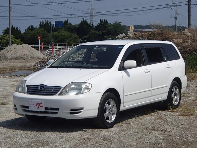 トヨタ X CDオーディオ キーレス 基本装備 Wエアバック