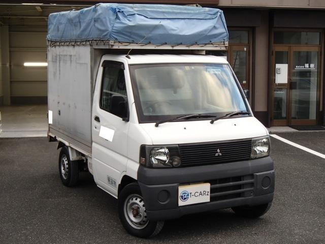 三菱 幌付き 商用 エアコン パワステ 5速マニュアル ETC