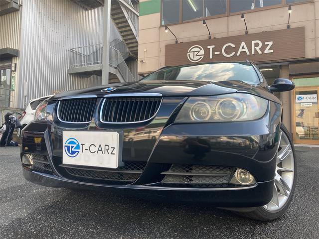 3シリーズ(BMW) 320iツーリング ETC ナビ アルミホイール オートライト CVT CD パワーシート スマートキー アイドリングストップ ルーフレール 電動リアゲート エアコン パワーステアリング パワーウィンドウ 中古車画像