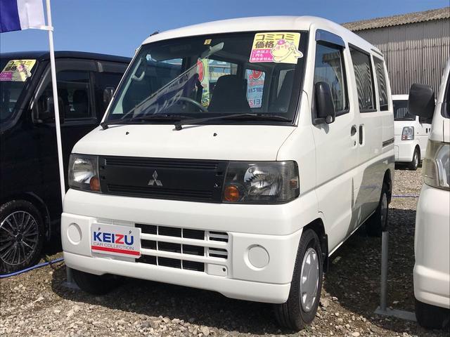 三菱 CD 4WD ハイルーフ エアコン パワステ 5F