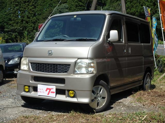 ホンダ バモス L 5速MT 4WD CD ABS フル装備 W...