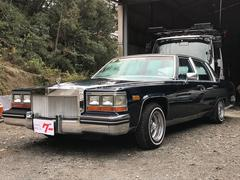 キャデラック フリートウッドデイトンワイヤーホイール ディーラー車 左H 全塗装済み