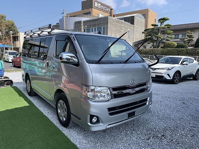 トヨタ ロングスーパーGL ルーフキャリア ナビ キーレス ETC