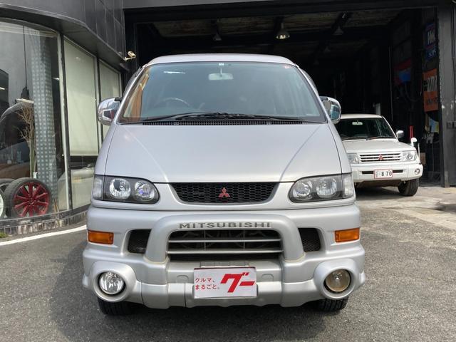 三菱 シャモニー 4WD HDDナビ オートステップ スライドドア 純正15AW キーレス