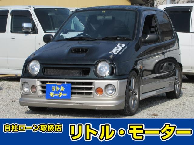 スズキ ターボie/s Fリミテッド ターボ車 アルミ フォグランプ