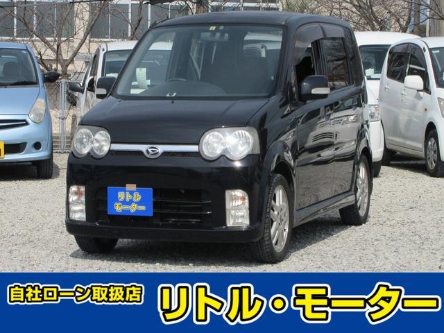 ダイハツ カスタム RS ターボ車 HDDナビ DVD再生 アルミ