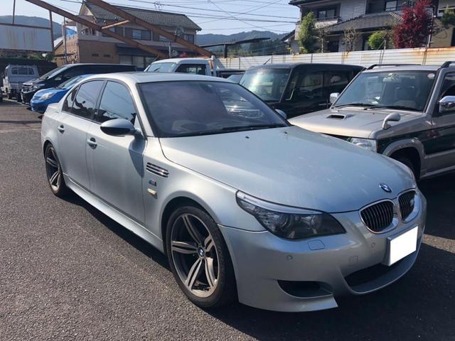 BMW M5 ナビ バックカメラ AW オーディオ付 AC AT パワーウィンドウ