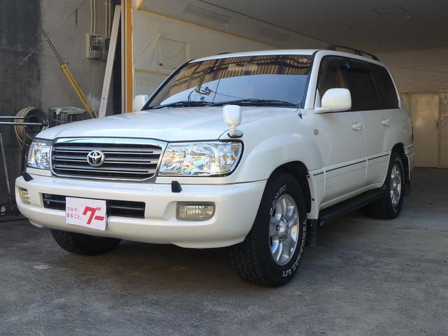 「トヨタ」「ランドクルーザー100」「SUV・クロカン」「鹿児島県」の中古車