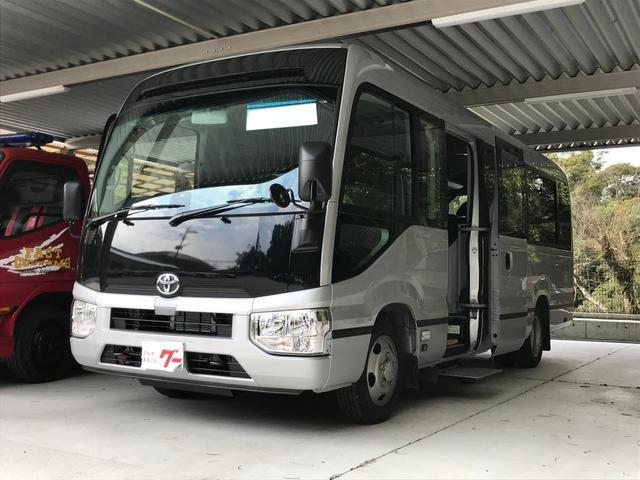 トヨタ GX 29人乗り 社外ナビ フルセグTV バックカメラ