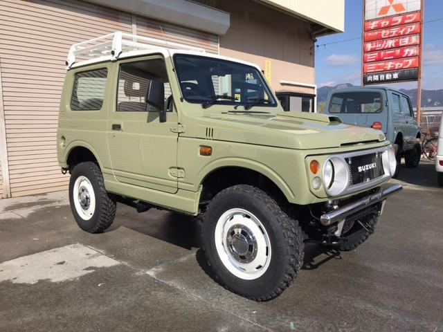 スズキ ワイルドウインド ルーフキャリア 4WD AT