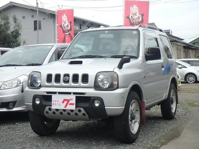 スズキ XC 走行38300km 4WD ターボ 純正バンパーガード リアスポ キーレス