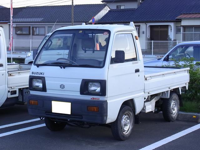 スズキ キャリイトラック 4WD 5速ミッション (車検整備付)