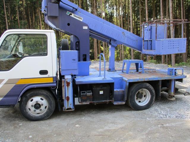 いすゞ  スムーサー変速機 高所作業車AT121-1 12m