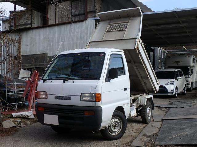 スズキ  ダンプ 4WD 5速マニュアル エアコン