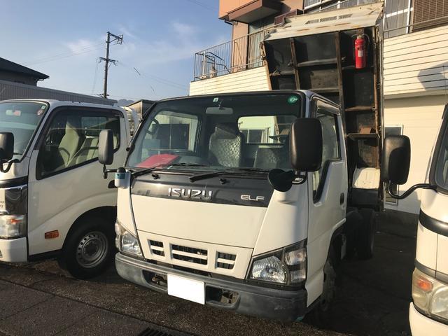 いすゞ  ディーゼル 高床ダンプ 5速マニュアル車