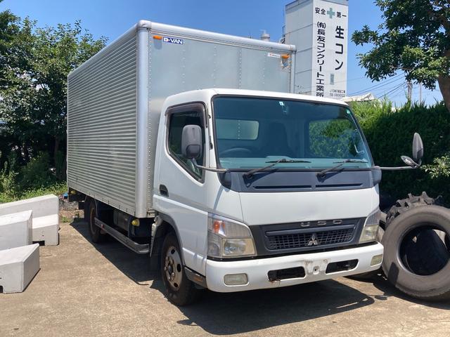 三菱ふそう  トラック 2.0t ディーゼル ワイドロング アルミ箱サイドドア付き パワーゲート  AC 6MT バックカメラ ETC