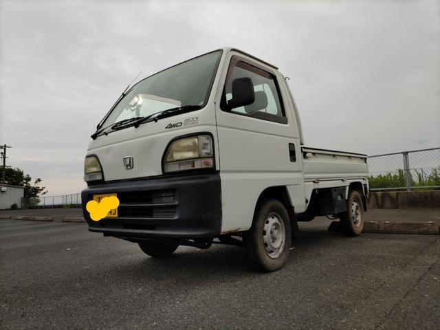 ホンダ STD 4WD 5速 四輪駆動 アクテイ 軽トラ