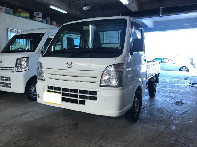 マツダ スクラムトラック KCエアコン・パワステ 5速マニュアル車 運転席エアバッグ