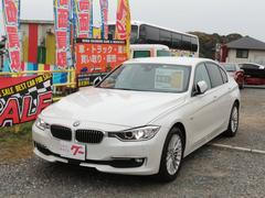 BMW320iラグジュアリー ブラウンレザーシート 純正ナビ