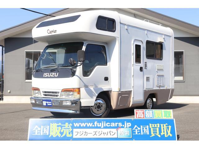 エルフトラック(いすゞ) キャンピングカー キャブコン ネオカプリス 4WD ディーゼル 7名乗車 サブバッテリー 中古車画像