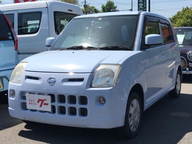 日産 ピノ S キーレス セキュリティー CD 電動格納ミラー