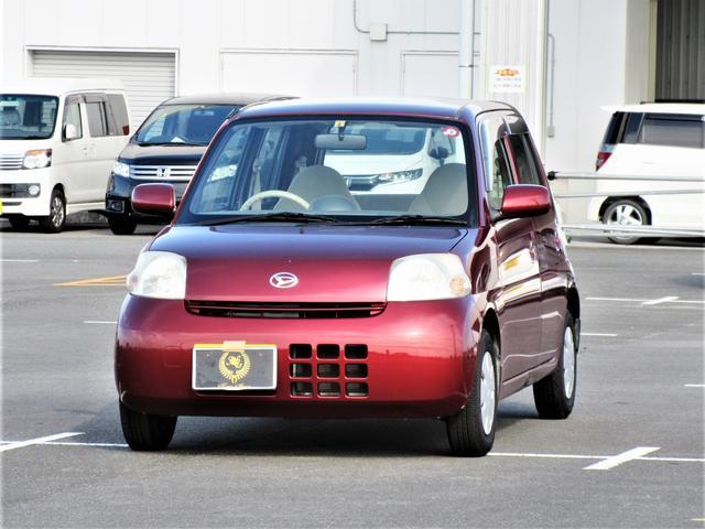 ダイハツ エッセ L ・ キーレス CDデッキ 車検R3年8月 タイミングチェーン(交換不要) エアコン パワステ パワーウィンドウ フル装備