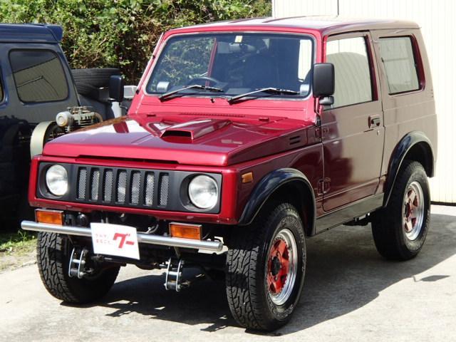 スズキ HC 4WD リフトアップ 社外バンパー&アルミ マフラー CDデッキ ETC