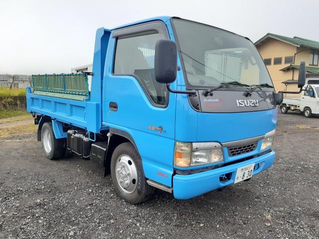 エルフトラック(いすゞ) ダンプ 5速MT/4WD/手動コボレーン付/ABS/HSA/パワステ/パワーウィンドウ/ETC/エア 中古車画像