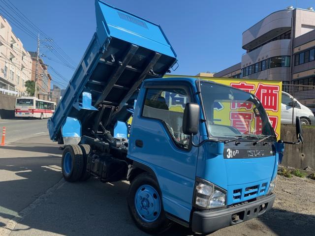 いすゞ エルフトラック  3トン ダンプ車
