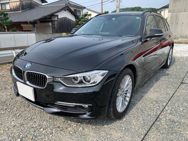 BMW 3シリーズ 320iツーリング ラグジュアリー 純正ナビ(地デジ対応)/フルレザーシート/電動メモリーシート/シートヒーター/電動リアゲート/クルーズコントロール/ETC