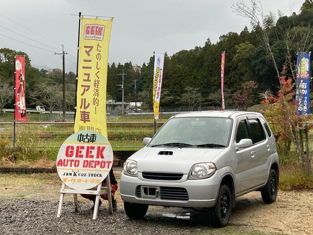 マツダ  ターボ5速MT 4cmリフトアップ 15インチブロックタイヤ FF AC PS PW 修復歴無 走行距離39650km 車検整備付き