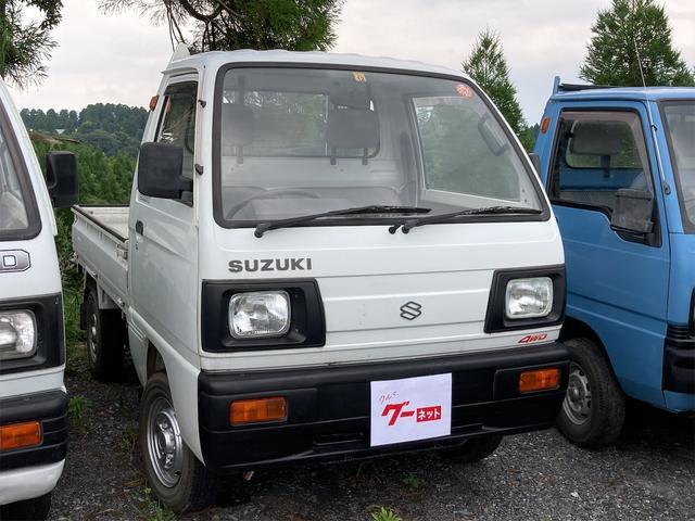 スズキ  4WD MT 修復歴無 ワンオーナー 記録簿 実走