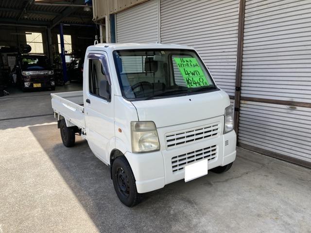 マツダ スクラムトラック KC 3方開 4WD エアコン 運転席エアバック