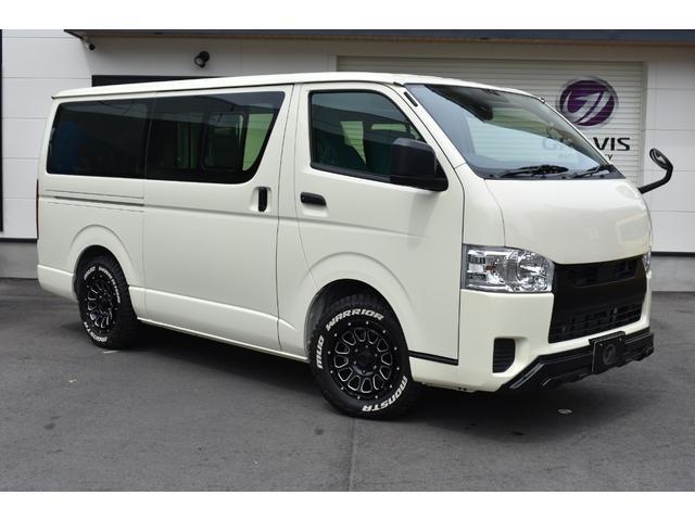 トヨタ ロングDX 3/6人 5ドア デルタフォース16インチ&マッドウォーリアタイヤ ボンネット 純正LEDヘッドライト デジタルインナーミラー付き