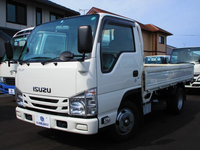 いすゞ エルフトラック フラットロー 2t ナビ キーレス ETC