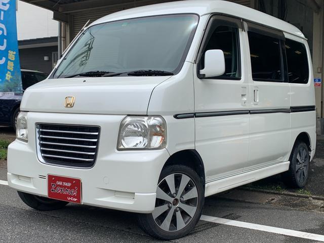 ホンダ ターボ ユーザー買取車 ターボ 4AT 車検令和4年12月 CDオーディオ キーレス 荷台用板・ラックあり ETC