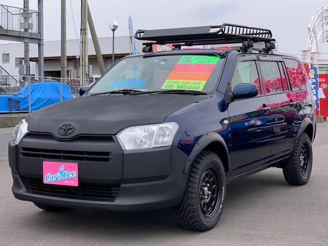 トヨタ UL-X リフトアップ ボンネットバンパー前後ラプター塗装 CVT キーレスエントリー 15インチデイトナホイール オーバーフェンダー MTマッドスタータイヤ Pガラス LEDヘッドライト アウトドア仕様