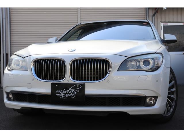 BMW 750iコンフォートパッケージ 黒革 SR 19AW(OP)