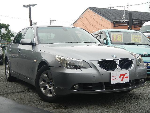 BMW 525i サンルーフ 純正ナビ アルミ キーレス