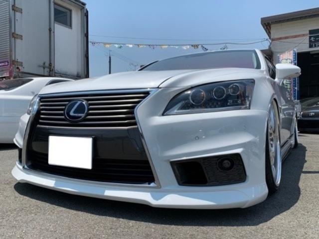 レクサス LS600hL 4WD フルカスタム車両 サンルーフ 本革