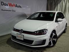 VW ゴルフGTIワンオーナー  禁煙車