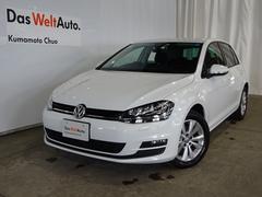 VW ゴルフTSIコンフォートライン ワンオーナー  禁煙車