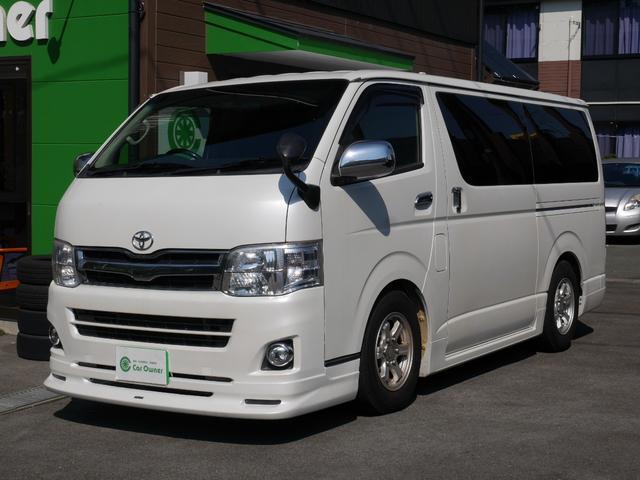 トヨタ ロングスーパーGL12.8型フリップダウンモニタ-・ETC
