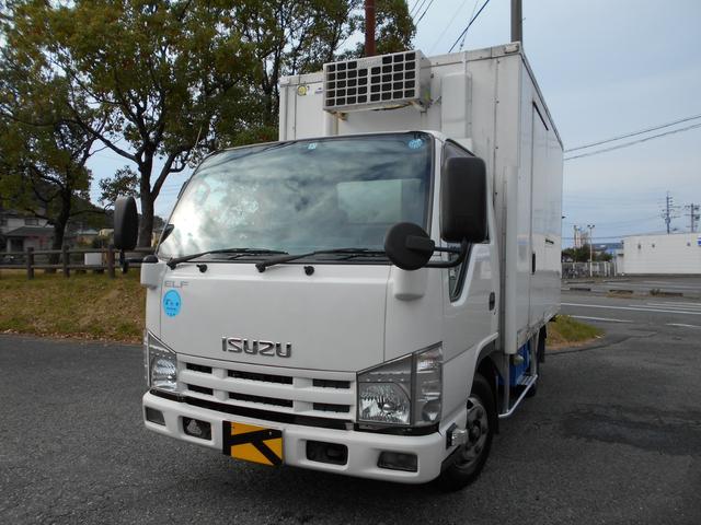 いすゞ 冷蔵冷凍車 -30℃設定 スタンバイ装置 バックモニター