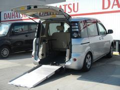 シエンタX ウェルキャブ車 車椅子仕様タイプ1 スローパー車