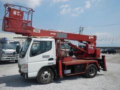 キャンター5.2D 高所作業車 エアバッグ 5MT ディーゼル